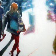 """""""Constructing Identities 06/09"""",  weiter führende Serie von Acrylbildern / Leinwand"""